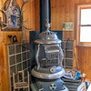 Old Wood Stove - Clark Store - Clark, Colorado