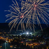 Fourth of July Celebration over Steamboat Springs, Colorado - 2019