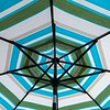 Creekside Cafe patio umbrella