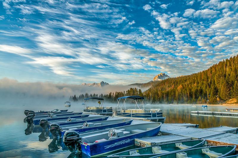 The Marina at Redfish Lake Lodge