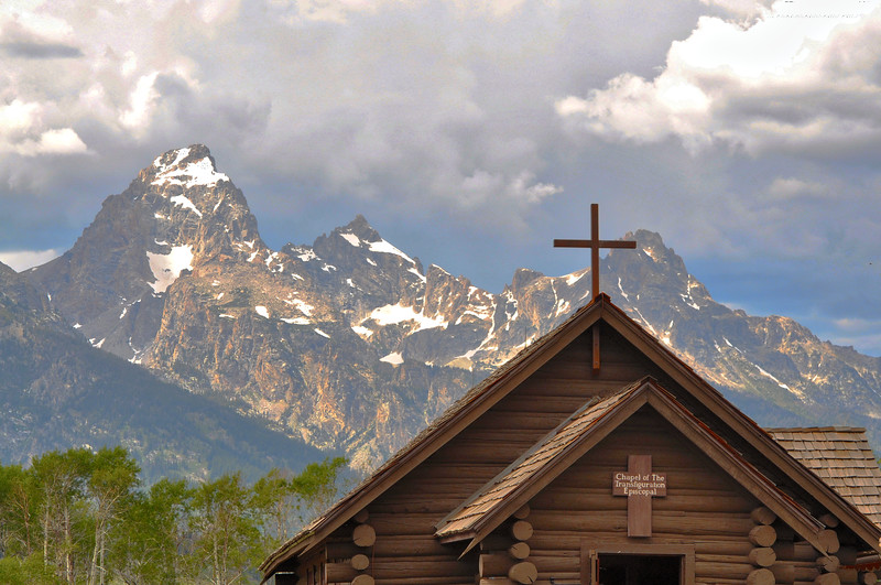 Chapel of Transfiguration- Grand Teton National Park - Jackson Hole, Wyoming