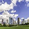 Houston Skyline @ Eleanor Tinsley Park