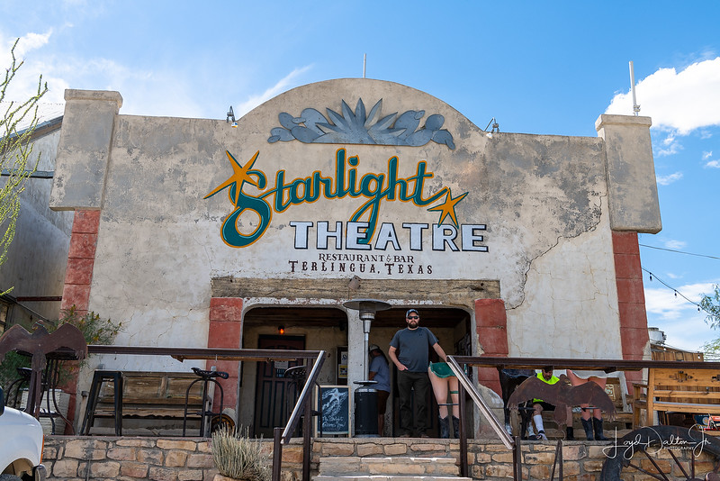 The Starlight Theatre - the Beverly Hills of Terlingua