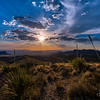 Sunset – Sotol Vista Overlook- Big Bend National Park