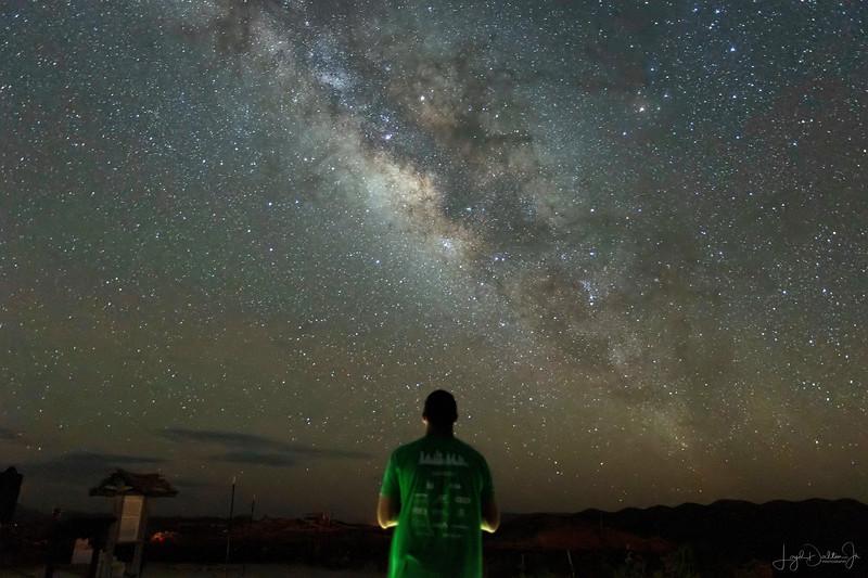 Milky Way at Terlingua Cemetery - Terlingua, Texas