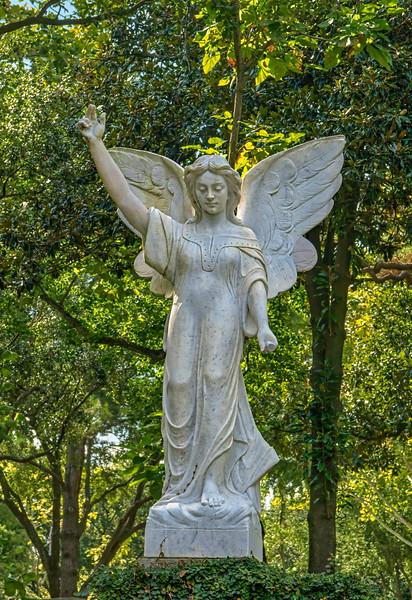 Angel - Glenwood Cemetery, Houston, Texas