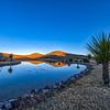 Sundown over the Cibolo Creek Ranch