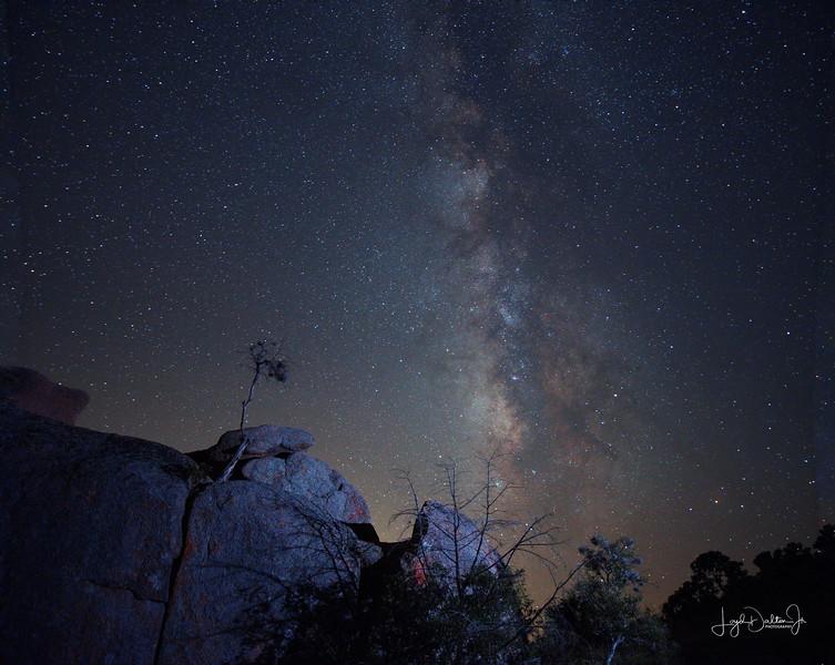 Milky Way at Enchanted Rock