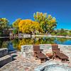 The natural spring waters at Cibolo Creek Ranch are captured in a shallow reservoir producing a perfect spot to just relax and unwind!