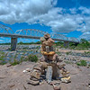 Rock Stacking - Llano, Texas