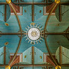 Ceiling of St Mary's Catholic Church, Praha, Texas