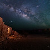 Milky Way over the Old Ruins - Terlingua, Texas
