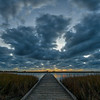 Twilight at Galveston Island State Park