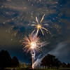 Fourth of July Fireworks - Colorado Springs, Colorado