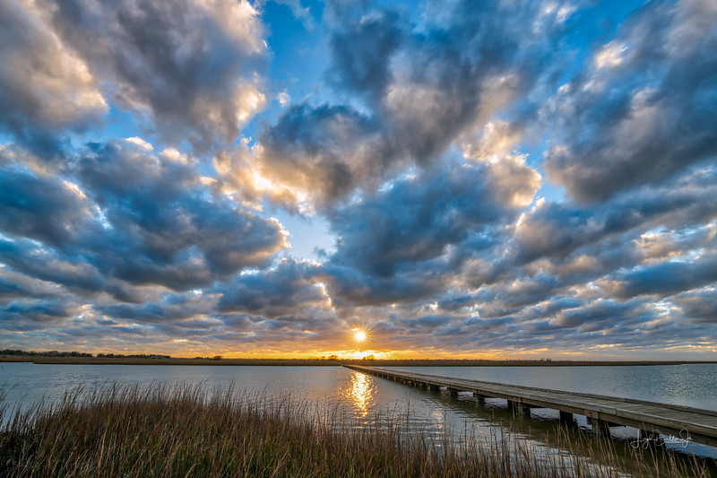 Sunset - Galveston Island State Park