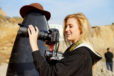Photos of the Nikon D800 in the field!