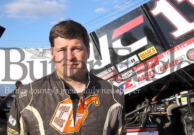 Lernerville Speedway sprint car driver Carl Bowser. Seb Foltz/Butler Eagle