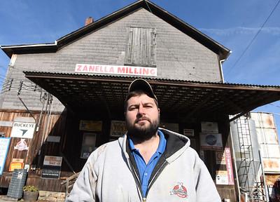 Mark Zanella of Zanella Milling. Harold Aughton/Butler Eagle