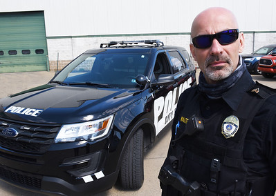 Jeremy Walters of the Butler City Police Department. Harold Aughton/Butler Eagle