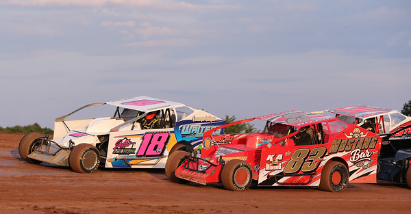 Lernerville Friday 08/14/20. Seb Foltz/Butler Eagle