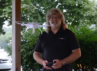 Tom Murrin is the owner and operator of Drone Addiction, a local company that runs classes and workshops to teach kids how to fly drones. Julia Maruca / Butler Eagle