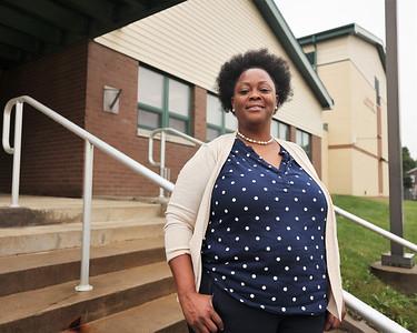 Broad Street Elementary principal Vanessa Boyd. Seb Foltz/Butler Eagle Aug. 2021