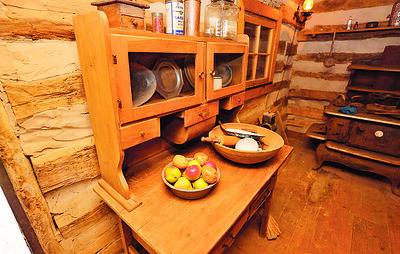 Cooper Cabin cupboard. Seb Foltz/Butler Eagle 05/08/21