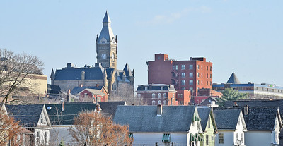 The skyline of Butler City taken in November 2020.Photo: Harold Aughton/Butler Eagle