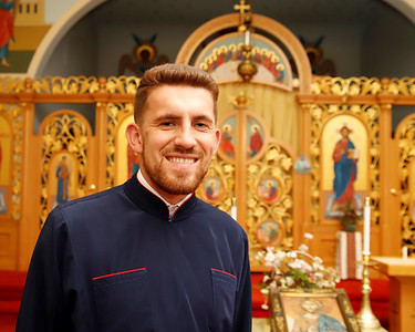 Saints Peter and Paul Ukrainian Orthodox Church Reverand Yurii Bobko. Seb Foltz/Butler Eagle Sept. 2020