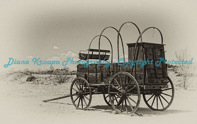 Old Chuck Wagon in Las Cruces, New Mexico  Photo #LC200