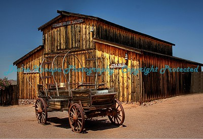Old Covered Wagon, Apache Junction, Arizona.  Photo #902