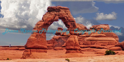 Delicate Arch - Arches National Park - Moab, Utah      Photo #0042