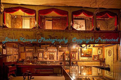The Birdcage theater in Tombstone, Arizona.  Photo #AZ-777
