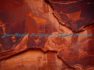 Monument Valley - Navajo Reservation - Arizona - Petroglyphs     Photo #1634