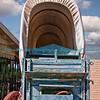 Old Covered Wagon at Yuma Crossing, Yuma, AZ.  Photo #5377