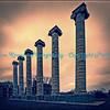 Columns at Missouri University, Columbia, MO.  Photo# 240