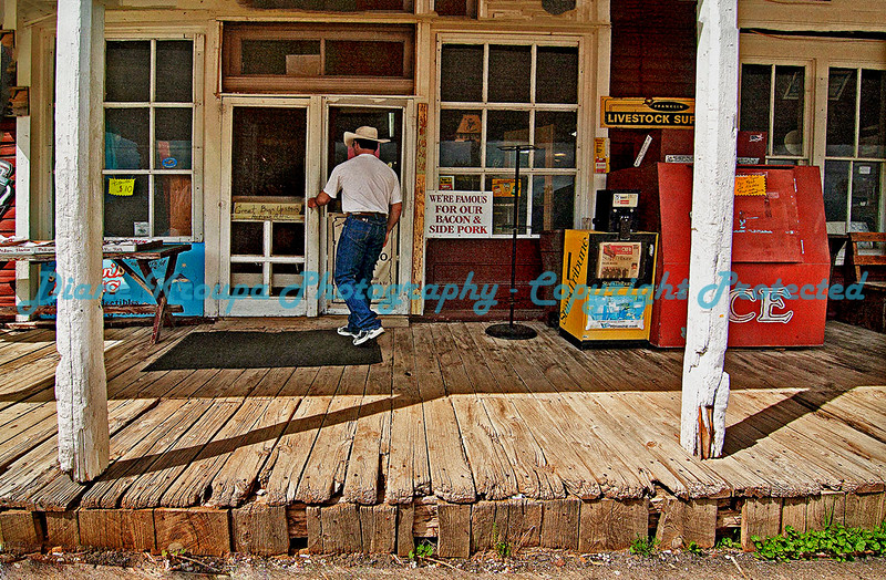 110 Year Old General Store in Aladdin, Wyoming I(population 15).  Photo #AL500