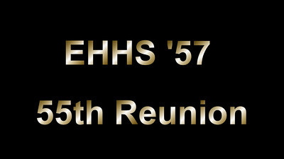 EHHS 55th Reunion - Friday Night - September 2012