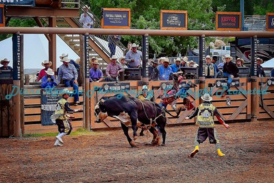 336 -  Professional Bull Riders Rodeo - Deadwood, SD
