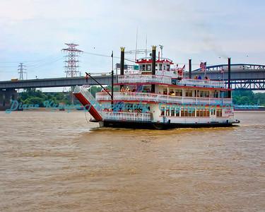Tom Sawyer Riverboat - St. Louis, MO  Photo# HF13