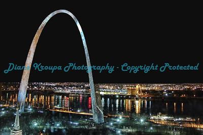 Gateway Arch - St. Louis Riverfront.  Photo #116