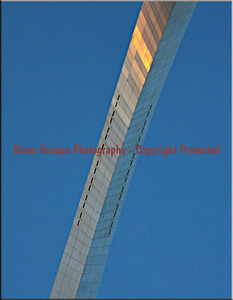 Observation windows at top of 630 foot Gateway Arch, St. Louis, MO  Photo #342