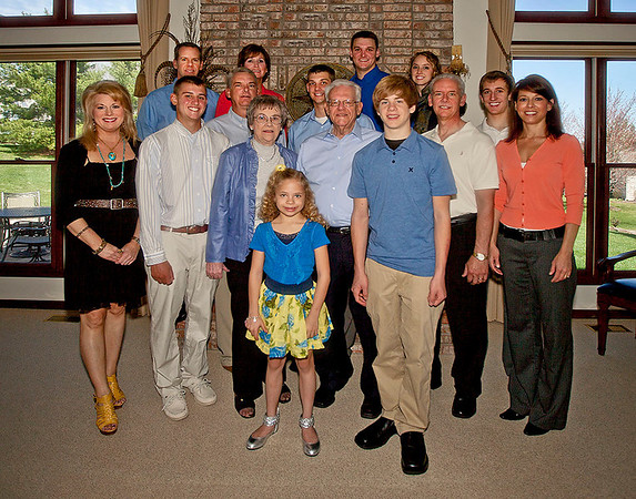 Don and Ann and their family.   Photo #79
