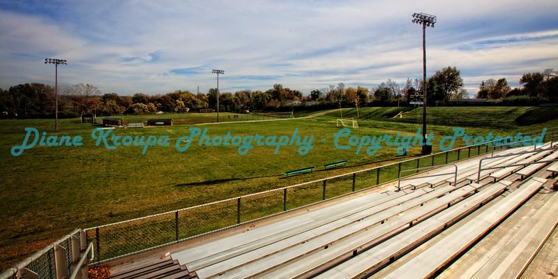 """Kennedy High School Football Field = 10""""X20"""" or 12""""X24""""  Photo# 248"""