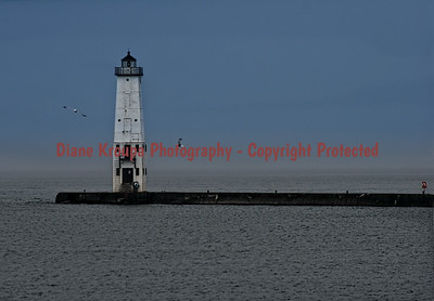 Frankfort Light, Frankfort, MI.  Photo #2214