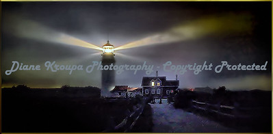 Highland Light (cape cod Light) North truro, MA.  Photo #CC-300
