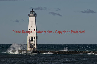 Frankfort Light, Frankfort, MI.  Photo #2285