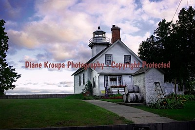 Old Mission Light , Traverse City, Michigan                                                            Photo# 2825