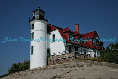 Point Betsy Light, Lake Michigan.  Photo #649