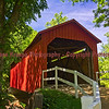 Sandy Creek Covered Bridge, Hillsboro, MO.  Photo# 445